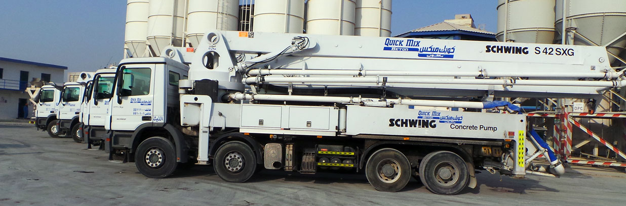 Quick Mix Beton - Ready Mix Companies in UAE | Ready mix concrete